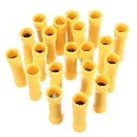 Picture of Ferrules Insulated 4mm Yellow pk20