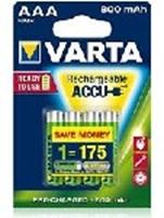 Picture of Battery Rechargeable Varta R2u Aaa 800mah Bli2