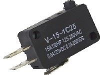 Picture of Mini Micro Switch Pushbutton