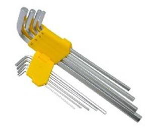 Picture of Allen Key 9pc Hex Long Yellow