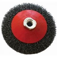 Picture of Wire Cup Brush Crimped Bevel Plain