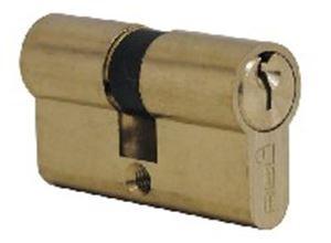 Picture of Cylinder BBL V Cam Dbl 60mm Brass