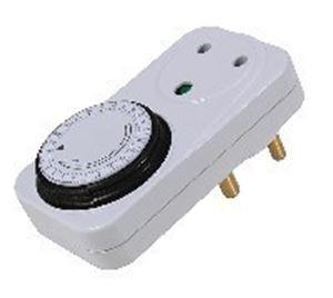 Picture of Timer Mechanical Plug Type 24 Hour