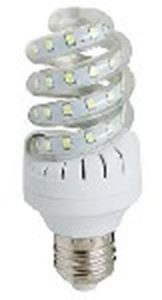 Picture of Led Spiral Smd Corn Bulb 9w E27 230v