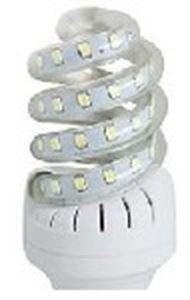 Picture of Led Spiral 9w  Corn Bulb  B22 230v DL