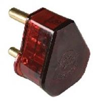 Picture of Voltage Protector Plugtop Red