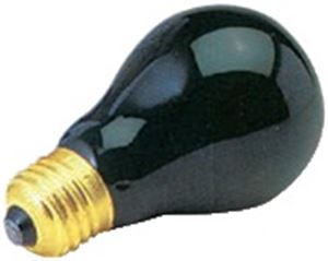 Picture of Incandescent Lamp Black 18w UV E27