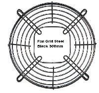 Picture of Fan Grid Steel Black 300mm