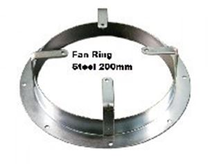 Picture of Fan Ring Steel 200mm
