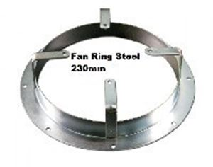 Picture of Fan Ring Steel 230mm