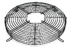 Picture of Fan Grid Steel Black 300mm Deep High 46mm
