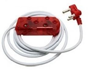 Picture of 5m Extension Cable 10A Side by Side Coupler-Red