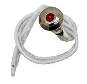 Picture of Pilot Light SO 67chr Red Mini