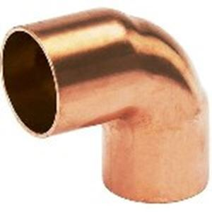Picture of Copper Elbow 90° Equal RF 1/4 6.35mm