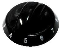 Picture of Knob SO DY 6mm 1-8 Black