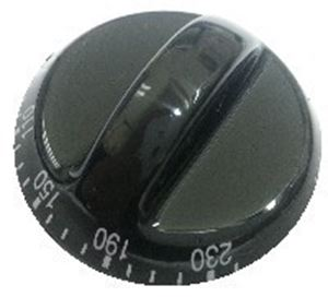 Picture of Knob SO DY 70° - 230°  Black