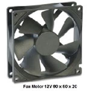 Picture of Fan Motor 12V 80 x 80 x 20