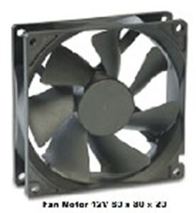 Picture of Fan Motor 12V 80 x 80 x 20 Maglv