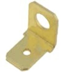 Picture of Terminal Male Brass Non-Ins 6.3 x 0.8mm 90 Deg