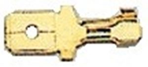 Picture of Male Disconnector Open Barrel Terminal Pack Of 20