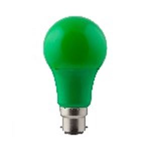 Picture of Led A60 7w Lamp Green B22