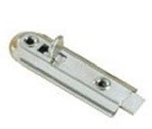 Picture of 70mm Flush Bolt Nickel Plated