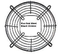 Picture of Fan Grid Steel Black 254mm