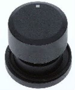 Picture of Knob SO DY Selector 6mm Blk