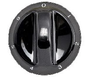 Picture of Knob SO DY Plate 0-6 6mm Blk