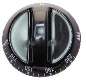 Picture of Knob SO DY Thermostat 0-230 6mm Blk