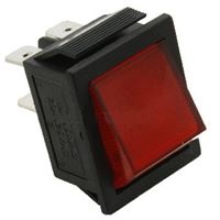 Picture of Switch 2 Pole Illum. Red