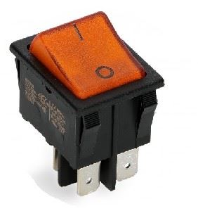 Picture of Switch Rocker Broad Single Yellow