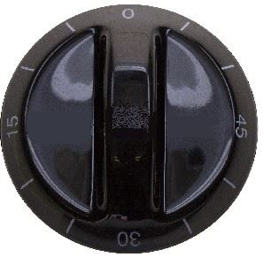 Picture of Knob SO DY Timer 8mm Blk