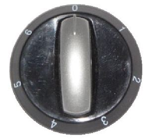 Picture of Knob SO DY Plate 0-6 6mm Blk/Silv