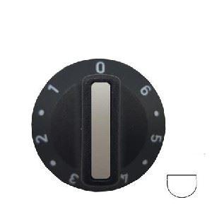 Picture of KnoB SO UN Plate 0-6 6mm Blk