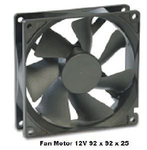 Picture of Fan Motor 92 x 92 x 25 12v Maglev