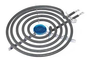 """Picture of Stove Plate DY Spiral 8"""""""