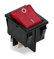 Picture of Switch Rocker Broad Single Red