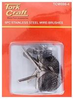 Picture of Wire Brush Mini 5 Pc Stainless