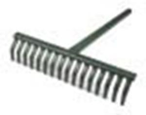 Picture of Metal leaf rake Complete