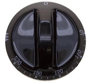 Picture of Knob-Thermostat S/L Black