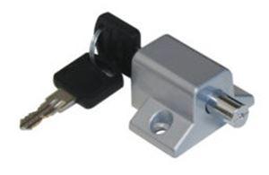 Picture of Patio Lock Pushlock Black