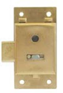 Picture of Cupboard Lock 2 Lever 76mm Bp