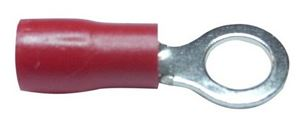 Picture of Lugs Insulated 1.5mm Red ,6mm Ring pk20