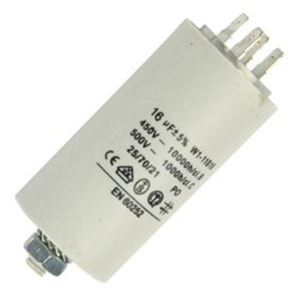 Picture of Capacitor 16uf 450v Plastic