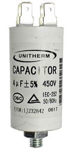 Picture of Capacitor 4uf 450v Plastic
