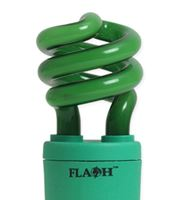 Picture of Flash 9w B22 Spiral Green
