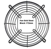 Picture of Fan Grid Steel Black 172mm