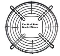 Picture of Fan Grid Steel Black 230mm