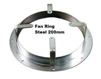 Picture of Fan Ring Steel 200mm